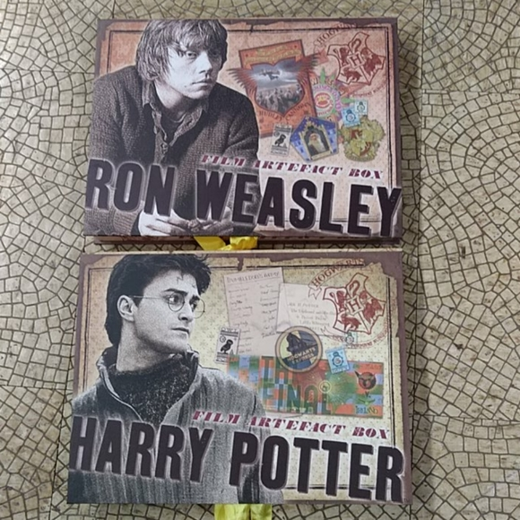 Harry Potter Artefact boxes (boxes only)